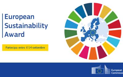 EUSustainabilityAward: il primo premio europeo per la sostenibilità