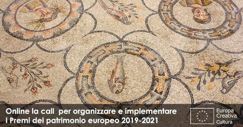 Call for proposal per organizzatori dei prossimi premi UE per il Patrimonio culturale