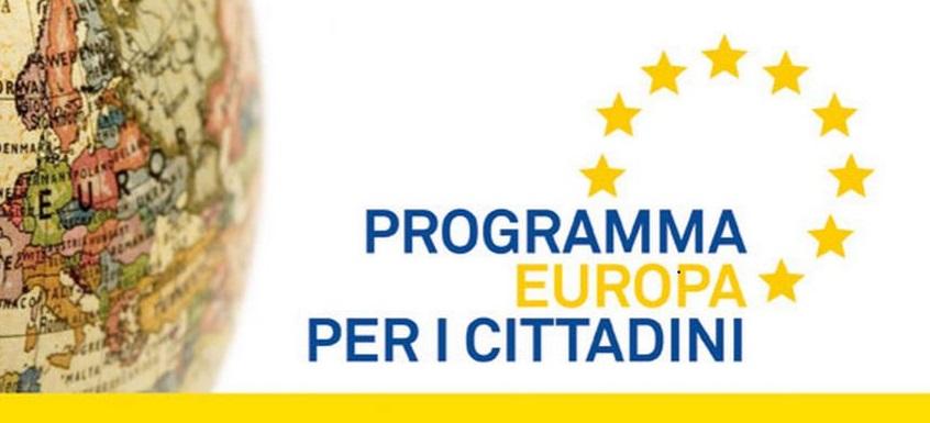 RETI DI COMUNI E GEMELLAGGI FRA CITTA': APERTA LA SECONDA TORNATA DEL PROGRAMMA EUROPA PER I CITTADINI