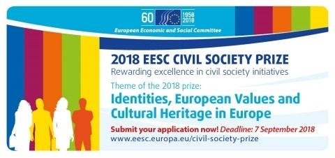 Premio CESE per la società civile 2018