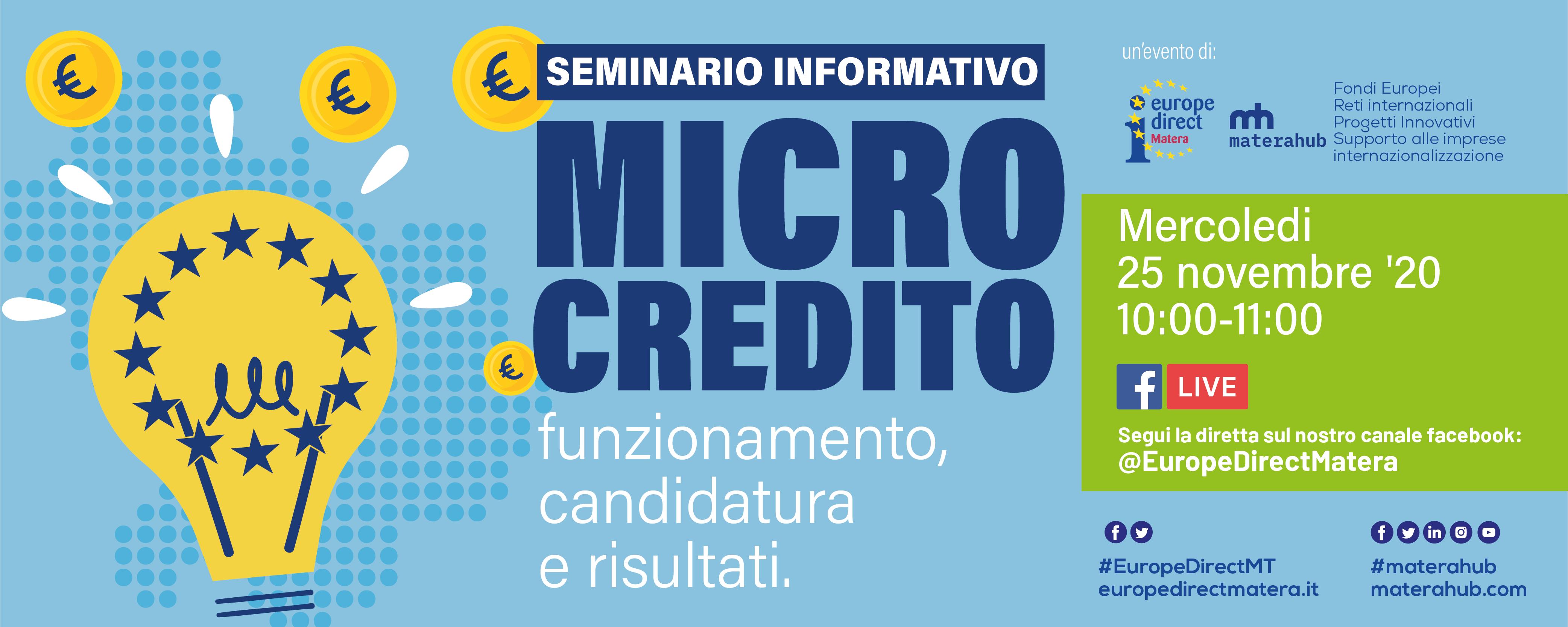 Fondo Microcredito: funzionamento, candidatura e risultati.